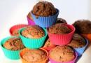 Schnelle Schoko-Muffins mit Espresso und Haselnusskrokant