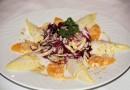 Wintersalat mit Orangen und feinem Salat-Dressing