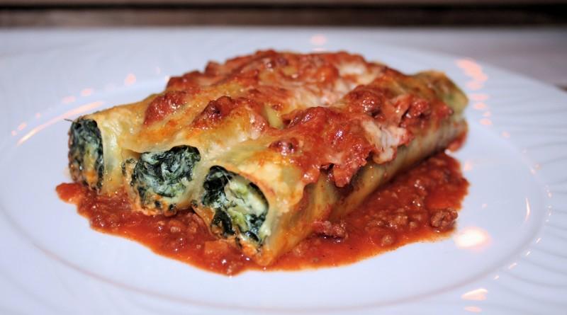 Cannelloni Ricotta-Spinat
