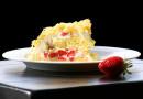 Erdbeer Mimosa Torte