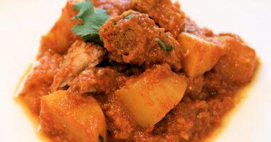 Lamm-Curry mit Kartoffeln
