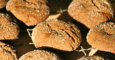 Ginger Cookies – Ingwer Kekse