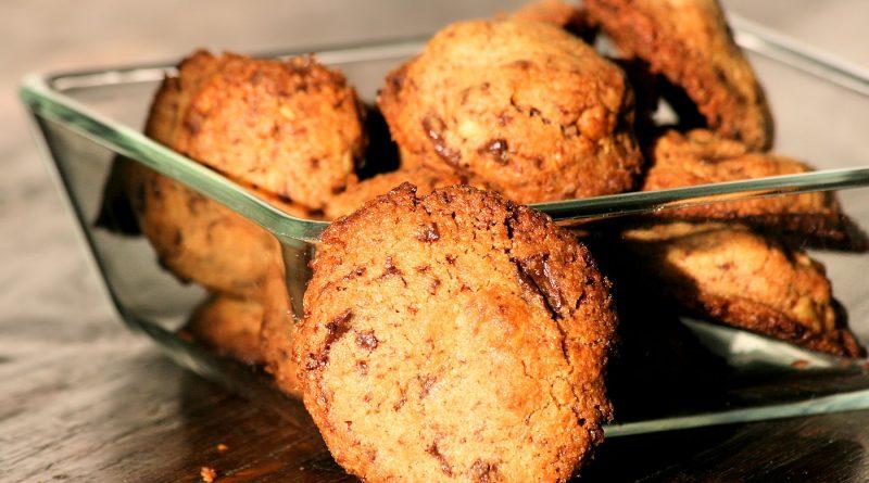Chocolate Chip Cookies mit Baumnuss
