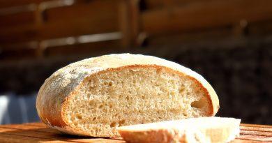 Brot ohne Hefe mit Lievito Madre