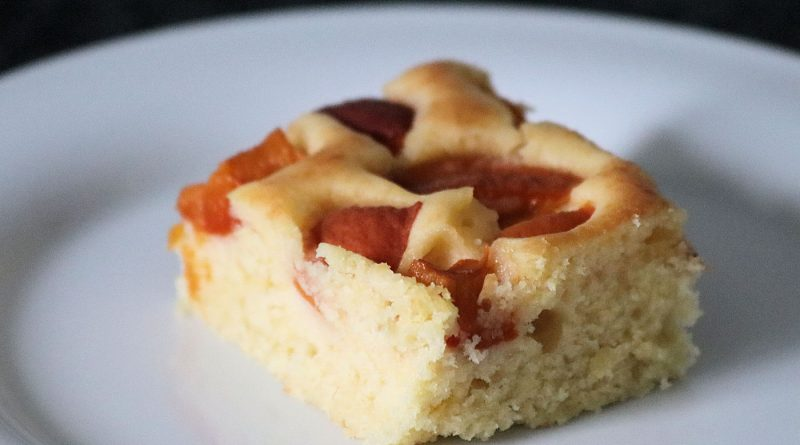 Aprikosen Blechkuchen