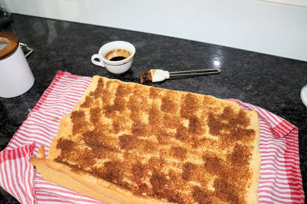 Biskuitrolle Zubereitung