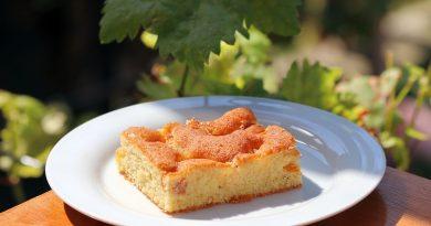 Feiner Blechkuchen mit Aprikosen